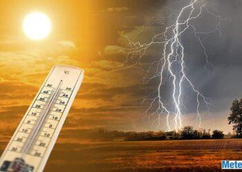 Meteo double face in Italia tra caldo e temporali