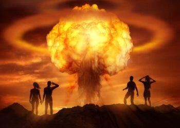 Esplosione nucleare.