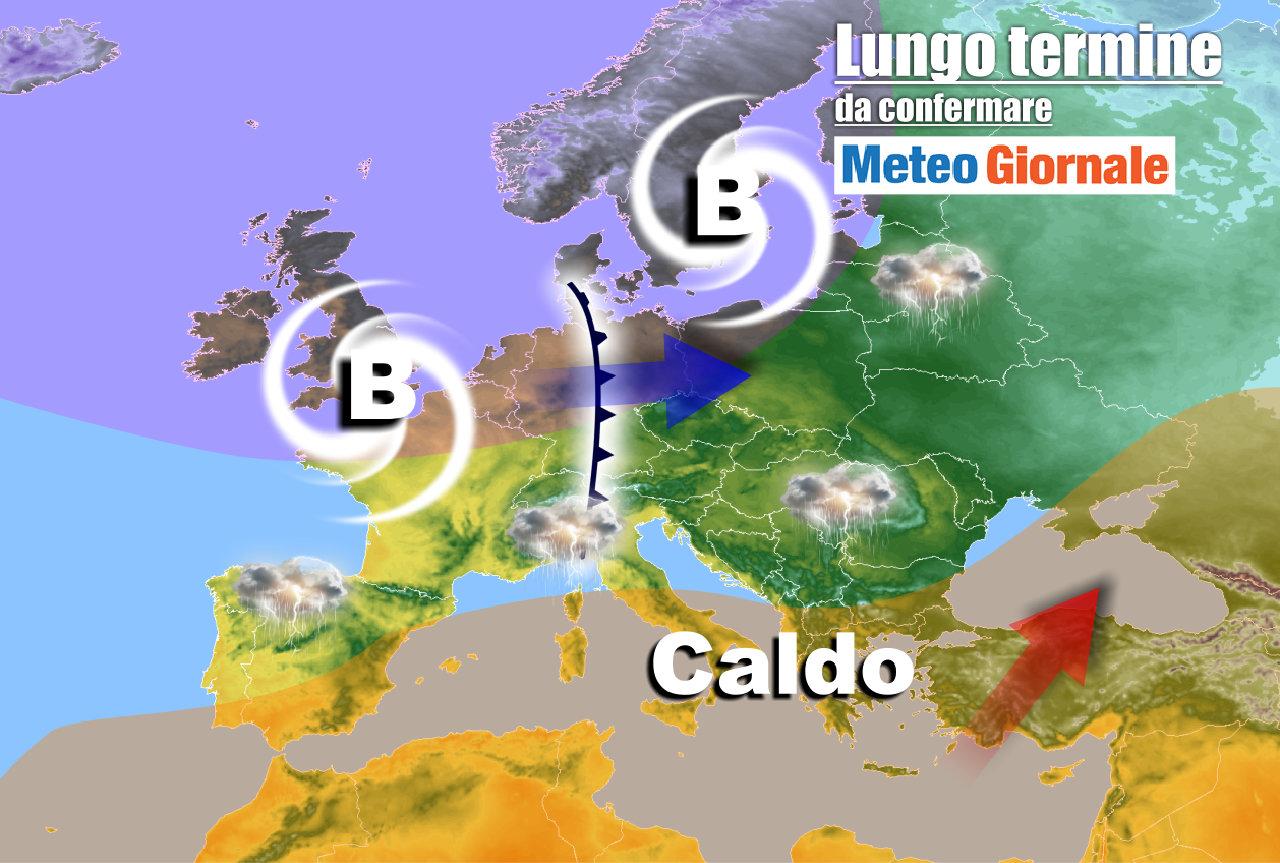 lungo termine 7 - Meteo Italia al 25 maggio: l'Estate dovrà attendere