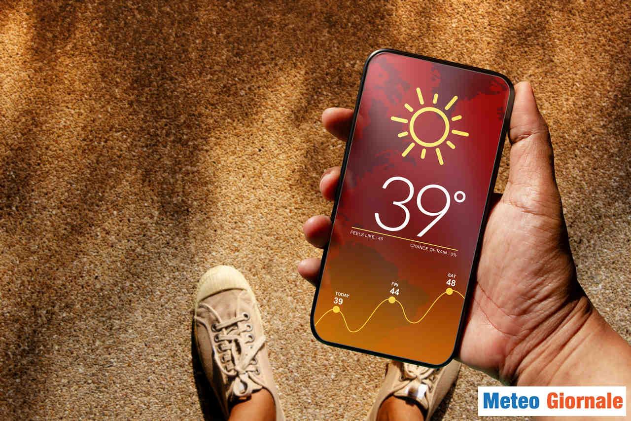 meteo giornale 00521 - I 40°C entro fine Maggio. Meteo estremo avviato, le probabilità