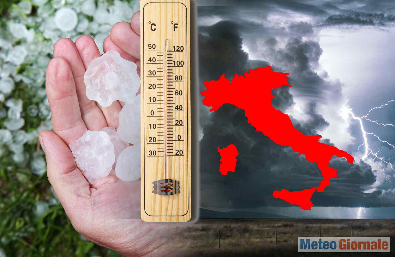 meteo maggio 2021 1 - ESTREMIZZAZIONE meteo climatica. MAGGIO fuori tempo