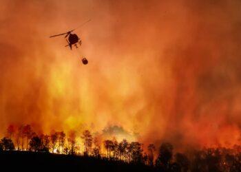 caldo e incendi 350x250 - Rischio persistenza del meteo d'AFRICA