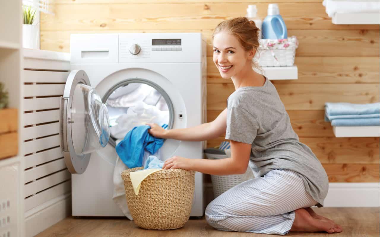 lavaggio lavatrice - Non laveremo più la biancheria. Si inizierà nello Spazio