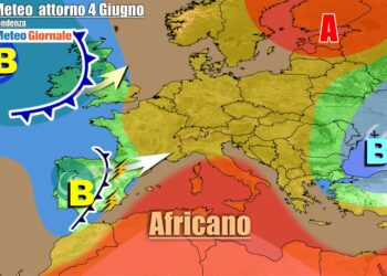Analisi della pressione atmosferica in Italia e sull'Europa