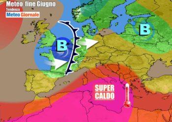 Nuova ondata di super caldo sul Sud Italia