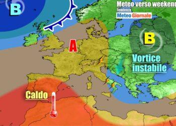 Italia sempre più interessata dall'anticiclone nei prossimi giorni