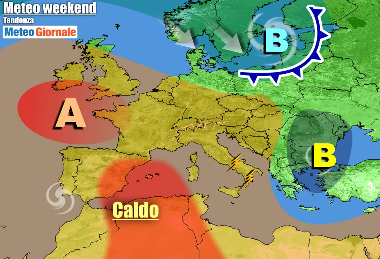 meteogiornale previsioni 7 giorni 7 - METEO Italia. Verso CALDO e ANTICICLONE dall'Africa. Estate farà sul serio