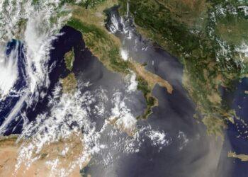 sabbia sahara meteosat