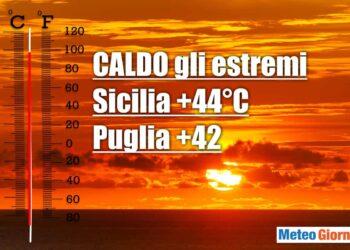 Clima infuocato anche nei prossimi giorni sull'Italia