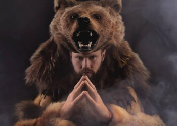 uomo orso