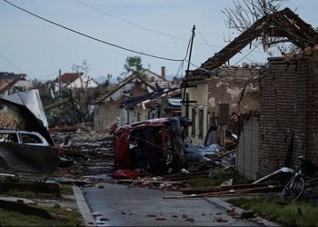 Tornado in Repubblica Ceca.