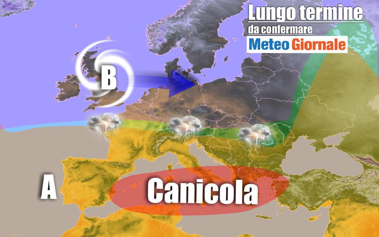 lungo termine 6 - METEO Italia al 28 luglio: CANICOLA, ci risiamo