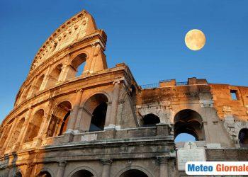 Condizioni meteo Roma di caldo afoso, ma con successivo calo termico e temporali.