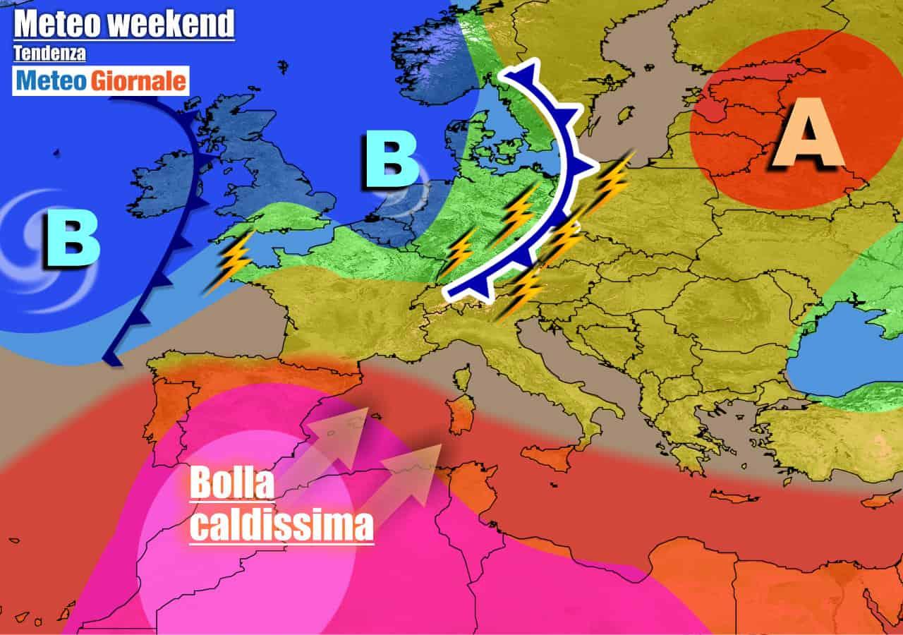 meteogiornale previsioni 7 giorni 6 - METEO ITALIA 7 Giorni. Colpo di coda dell'Africano prima di un FORTE BREAK